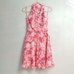🍒EUC🍒 WHBM HALTER DRESS 0